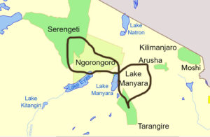 10-daagse safari Tanzania